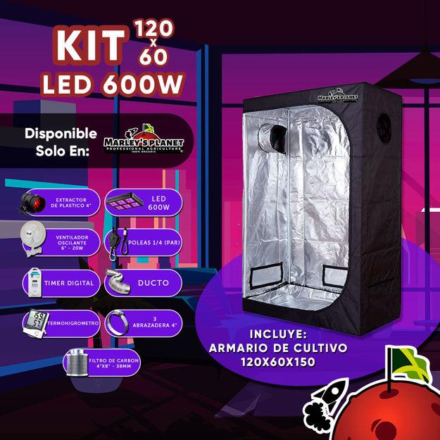 Imagen de KIT 120X60 cm LED 600W
