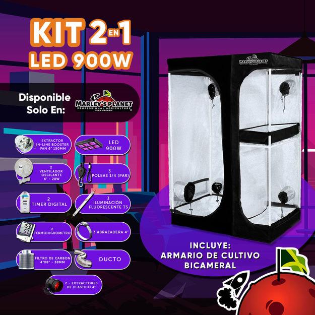 Imagen de KIT 2 EN 1 LED 900w 150X120cm