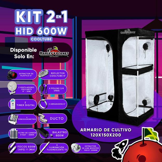 Imagen de KIT 150X120 - HID 600w COOLTUBE