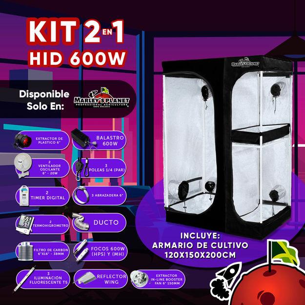 Imagen de KIT 2 EN 1 HID 600w 150X120cm