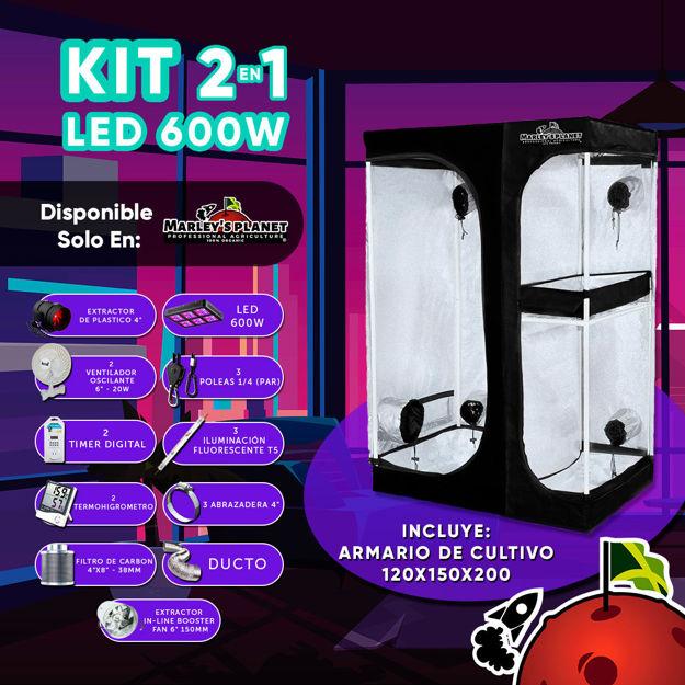 Imagen de KIT 2 EN 1 LED 600w 150X120cm