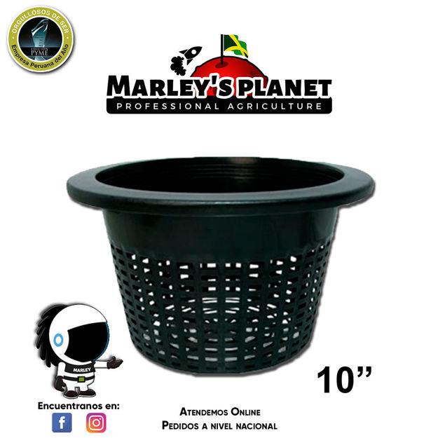 """Imagen de Bucket basket 10"""" - maceta para hidroponía"""