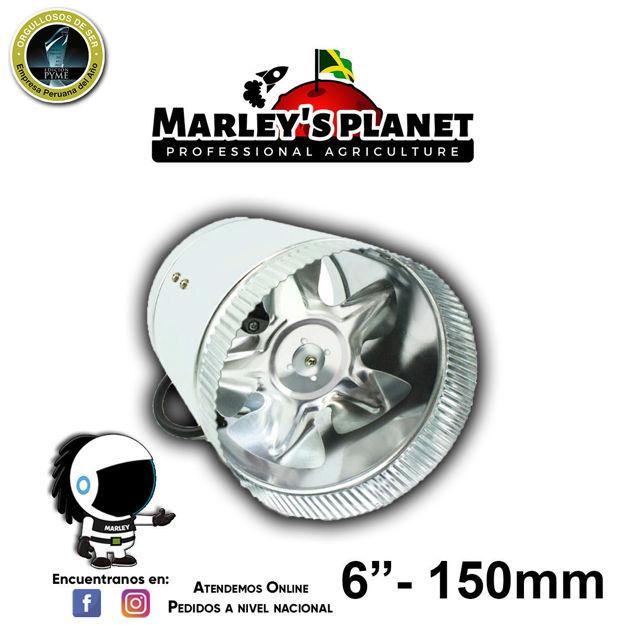 """Imagen de Extractor de 6"""" In-Line Booster Fan 150mm"""