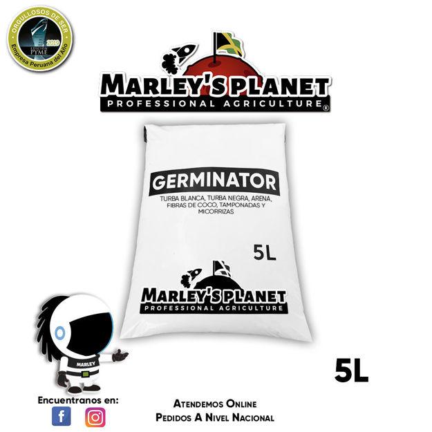Imagen de GERMINATOR -Sustrato de germinación MARLEY'S PLANET - 5L -